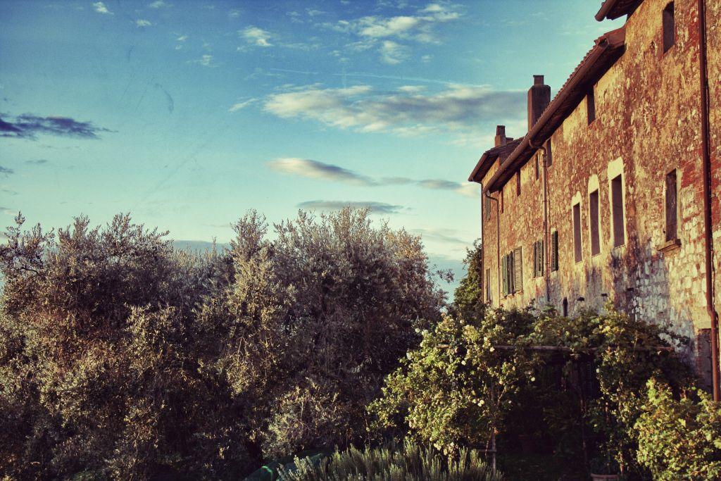 Casolare storico toscano della Tenuta di Montelattaia in Maremma Toscana
