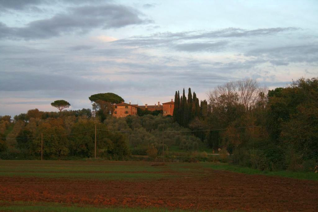 Vista della Tenuta di Montelattaia a Roccastrada Grosseto